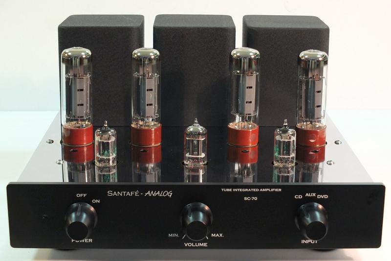 Amplificador a válvulas integrado HIFI SC-70